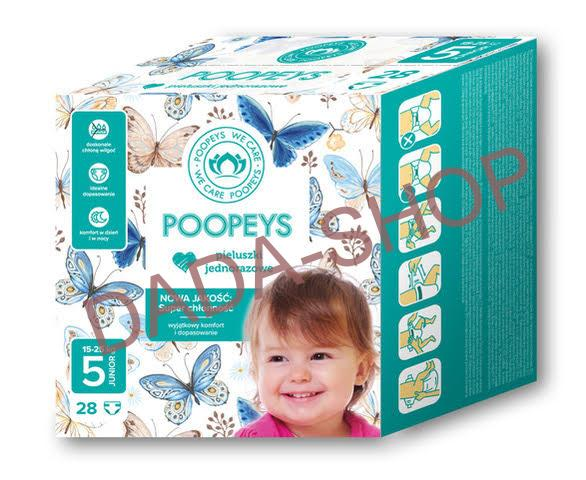 Plenky Poopeys 5 Junior 28ks 11-25kg